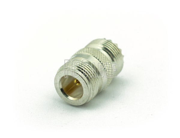 UHF Female To N Female Adapter
