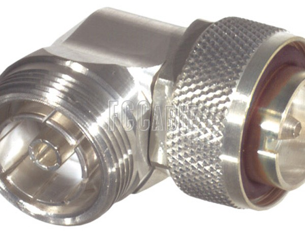 Low PIM 7/16 DIN Male To 7/16 DIN Female Right Angle Adapter