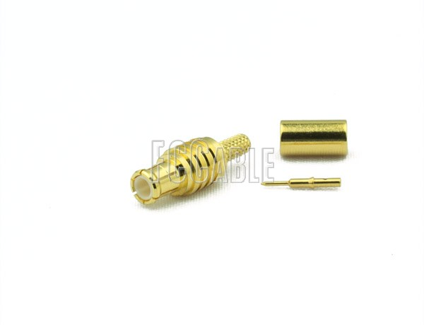 RF MCX Plug Connector CRIMP For RG188DS, RG316DS
