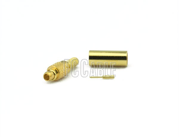 MMCX Plug Connector CRIMP For RG174, RG188, RG316, B7805A