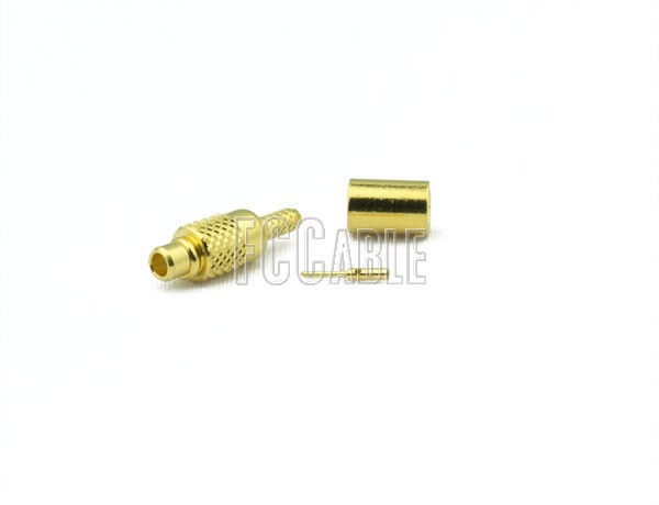 MMCX Plug Connector CRIMP For RG178, RG196