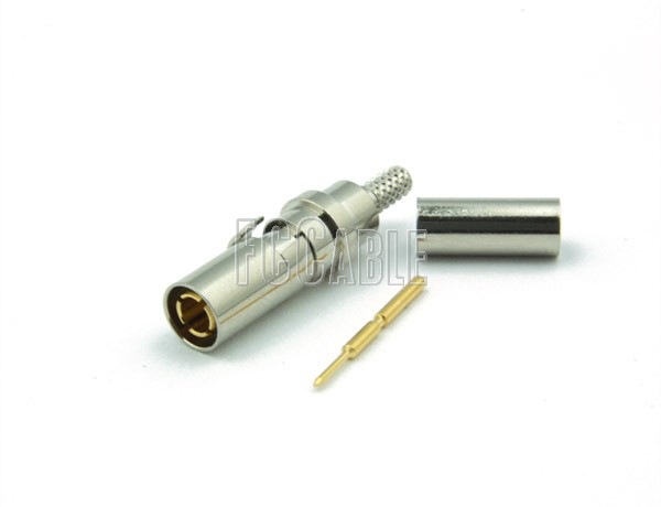 1.0/2.3 SLIDE-ON Male Connector CRIMP For RG174, RG188, RG316, B7805A