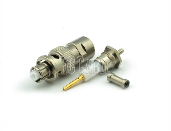 RF SHV Plug Connector CRIMP For RG174, RG188, RG316, B7805A