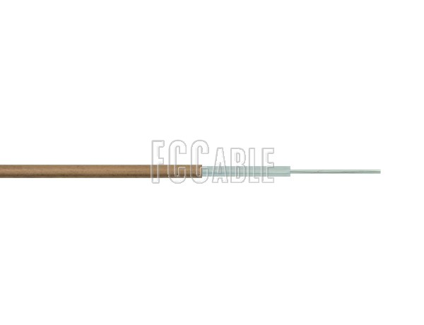 RF Semi-Rigid RG047 50 Ohm Coax Cable 0.047 inches Diameter Outer Copper Conductor
